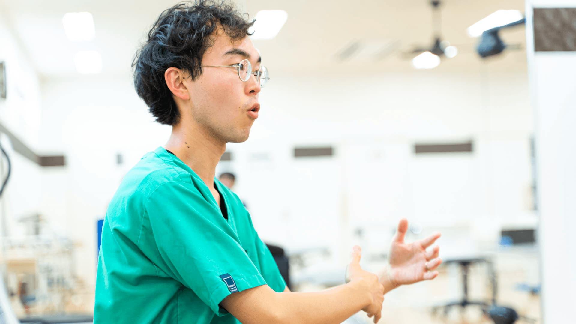 さとう整形外科クリニック理学療法士菊池和希さんにインタビューをさせていただきました。