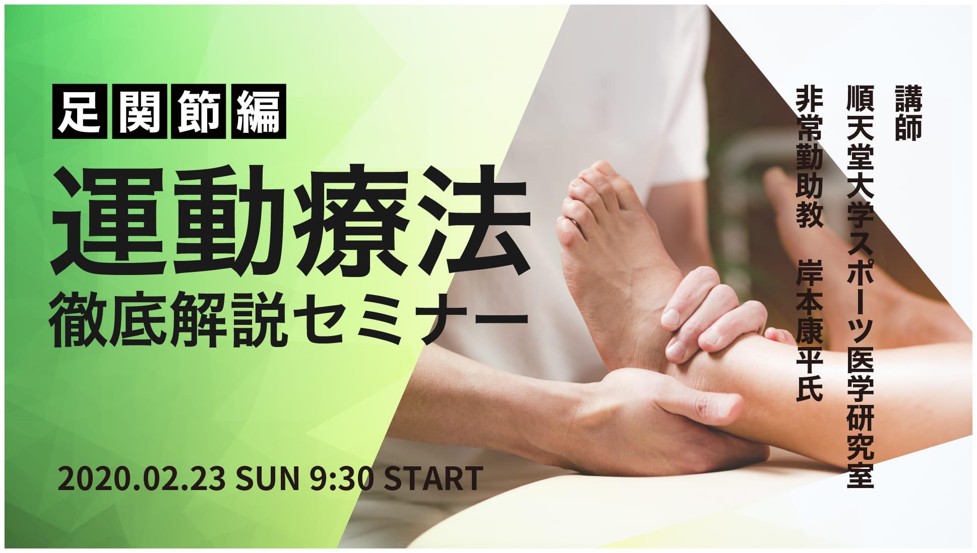 運動療法セミナー(足関節編)